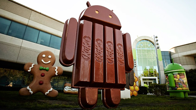 Android 4.4 to be Named Android Kit Kat…No, Seriously